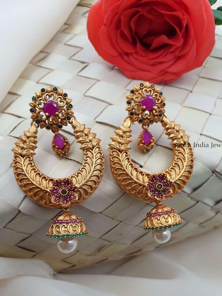 Gorgeous Matte Chandbali Earrings