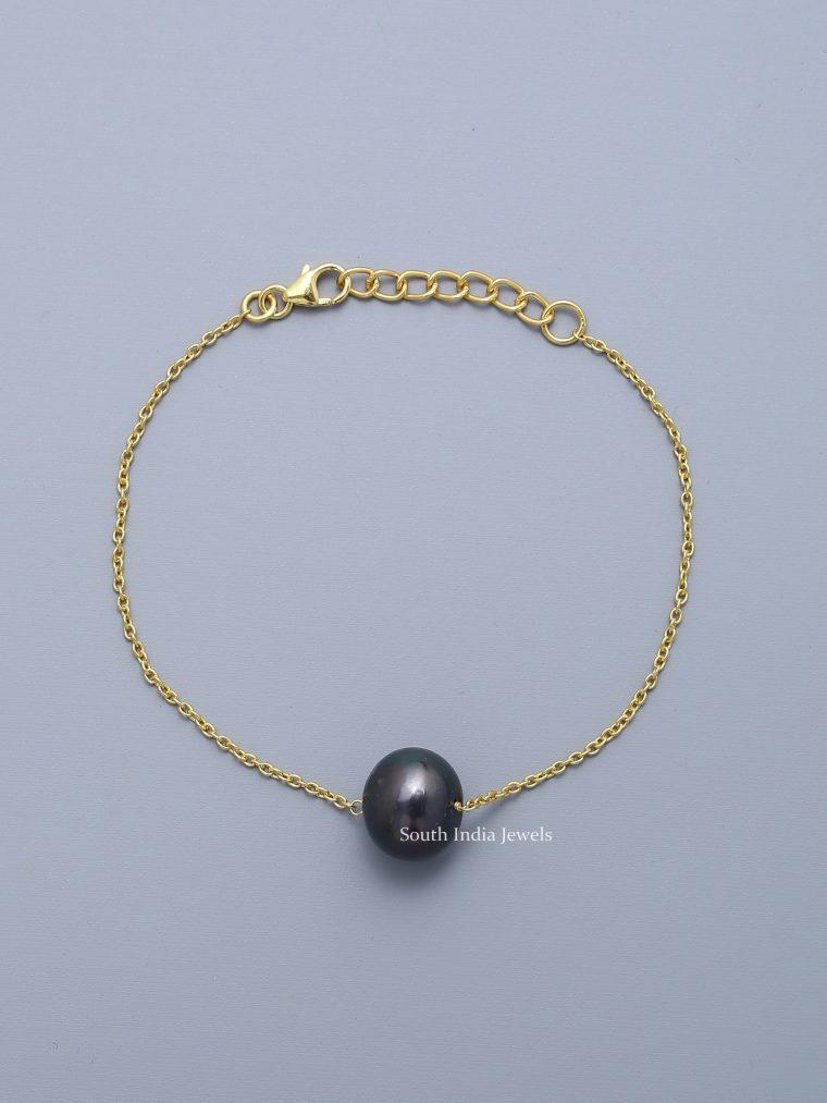 Gorgeous-Tahitian-Single-Pearl-Bracelet