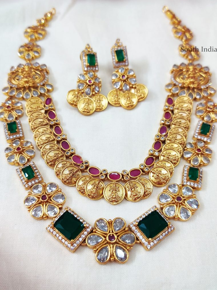 Lakshmi-Coin-Two-Layers-Necklace