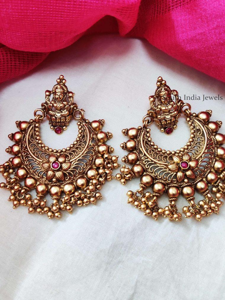 Lakshmi Design Chandbali Earrings (2)