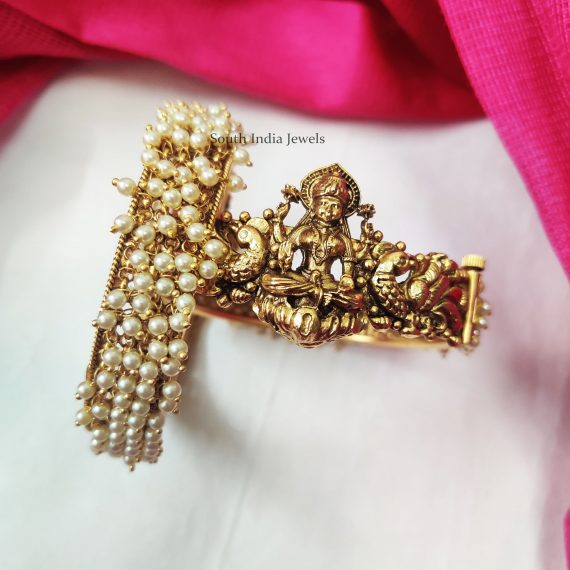 Lakshmi-Pearls-Openable-Bangle
