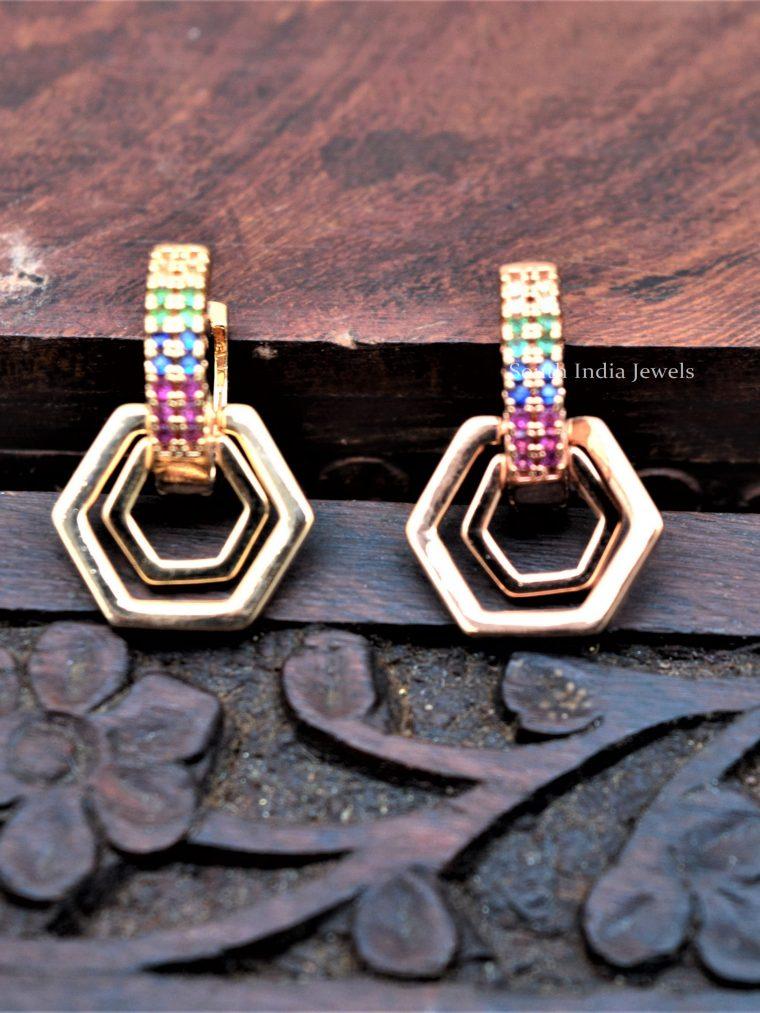 Pretty-Rose-Gold-Earrings