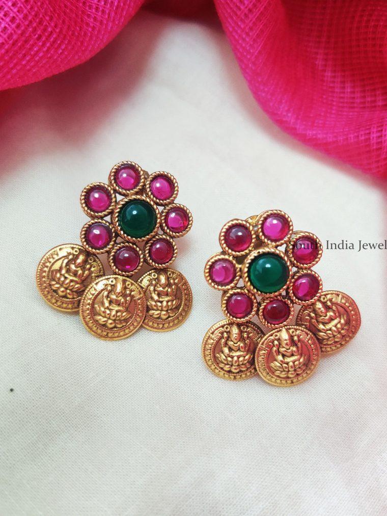 Stunning-Lakshmi-Coin-Earrings