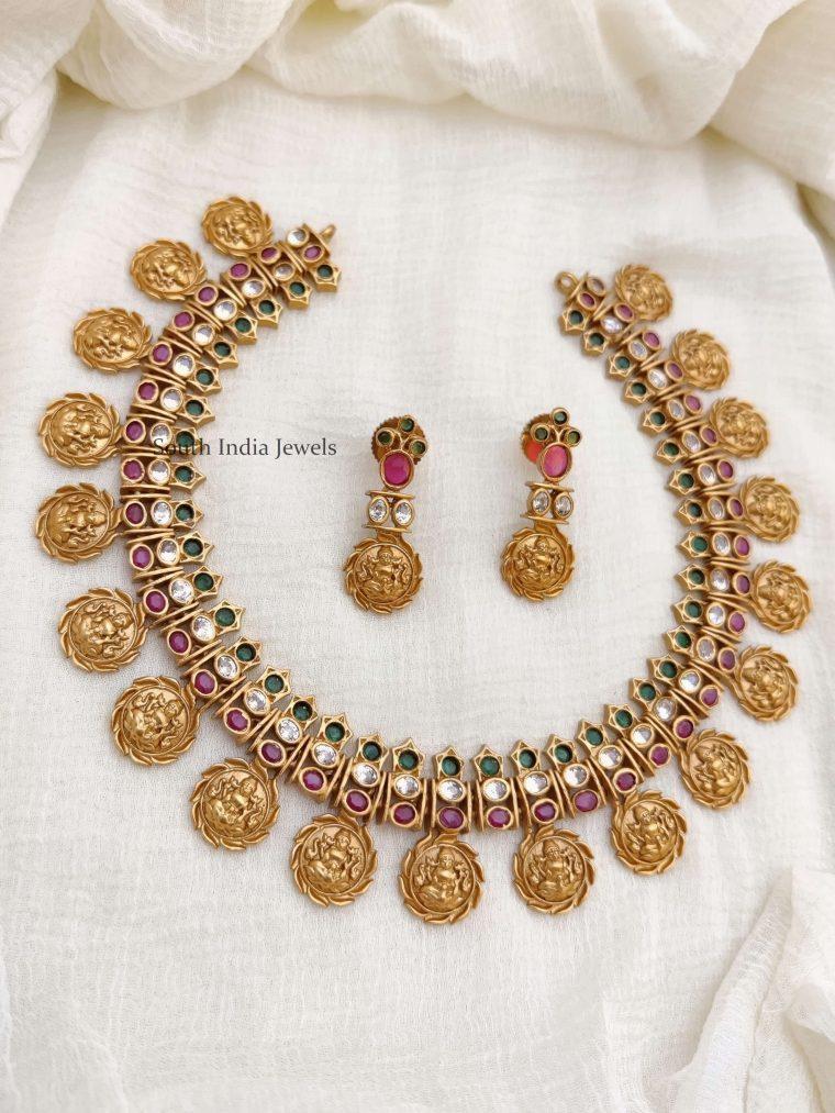 Stunning-Lakshmi-Coin-Necklace