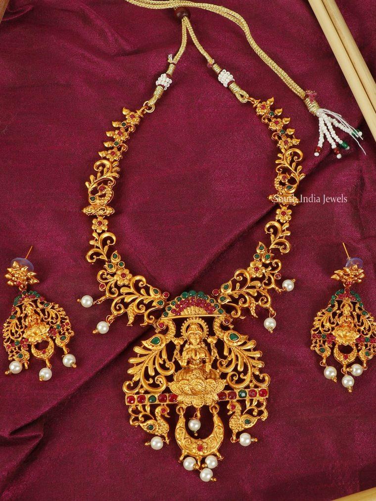 Stunning Lakshmi Design Necklace