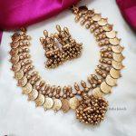 Temple & Coin Design Necklace