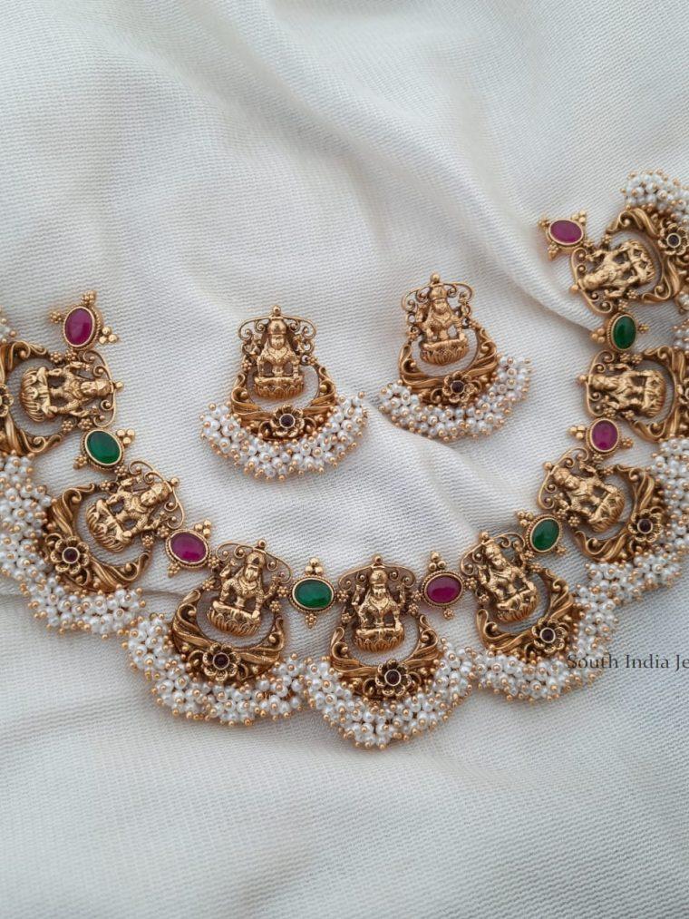Traditional Antique Lakshmi Necklace