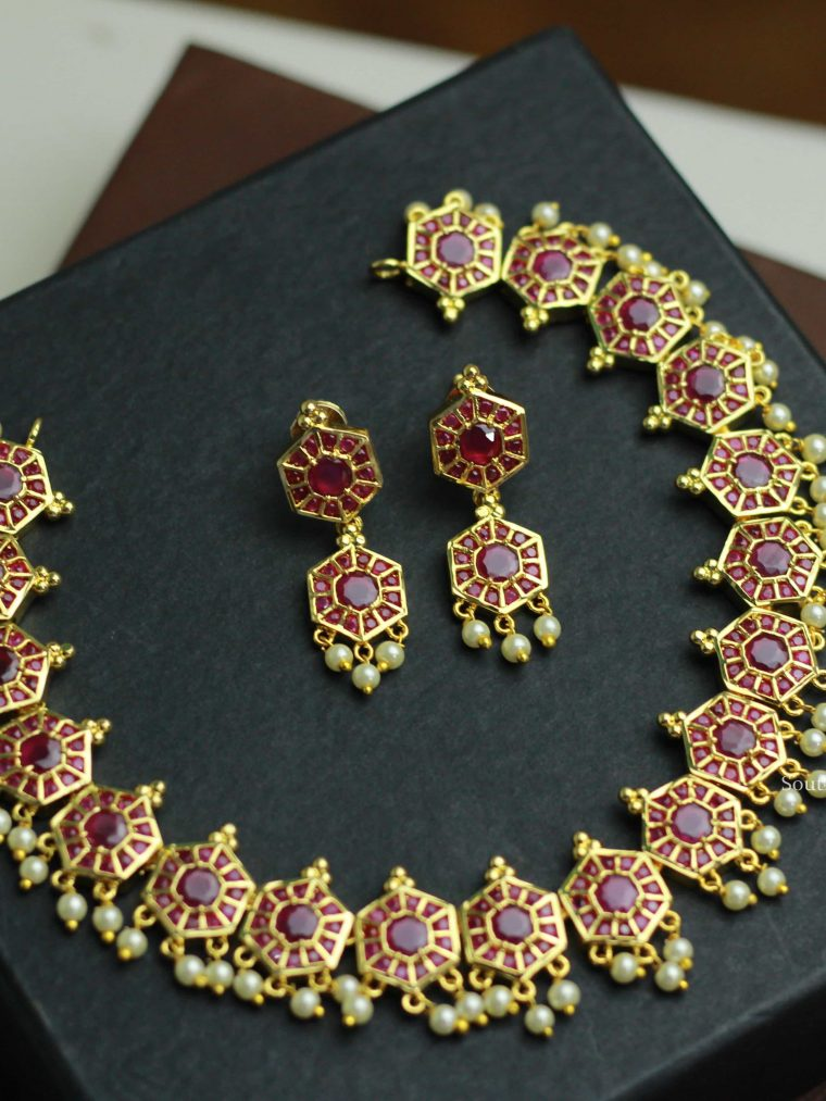 Traditional Design Pearl Necklace