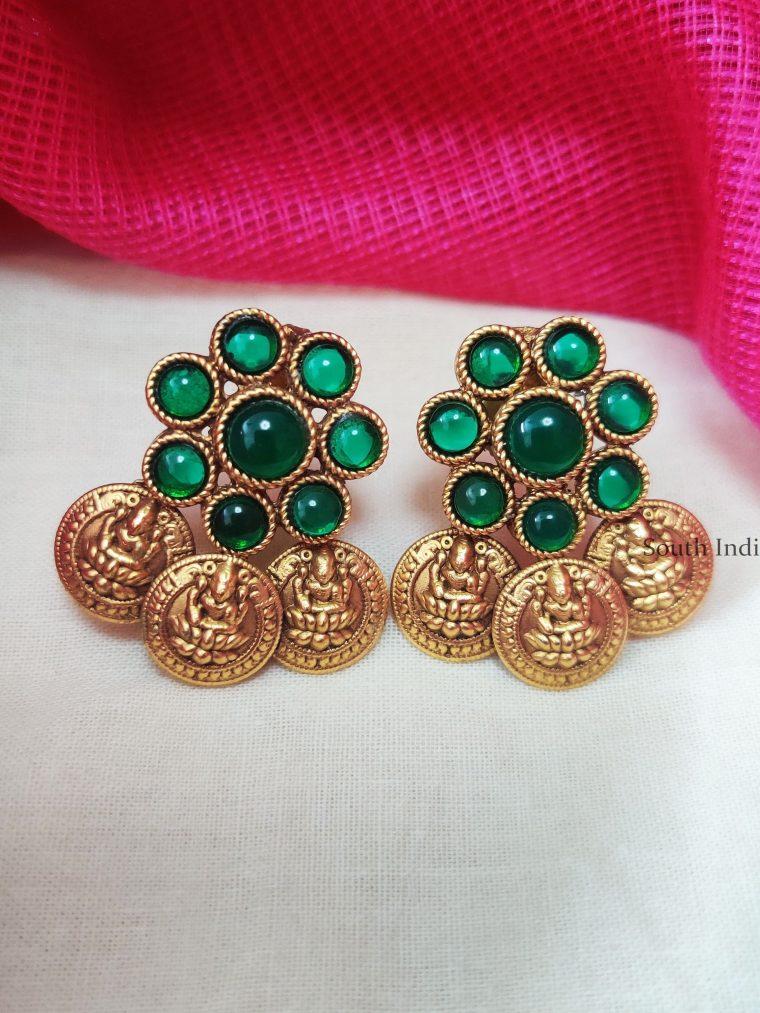 Traditional-Lakshmi-Coin-Earring
