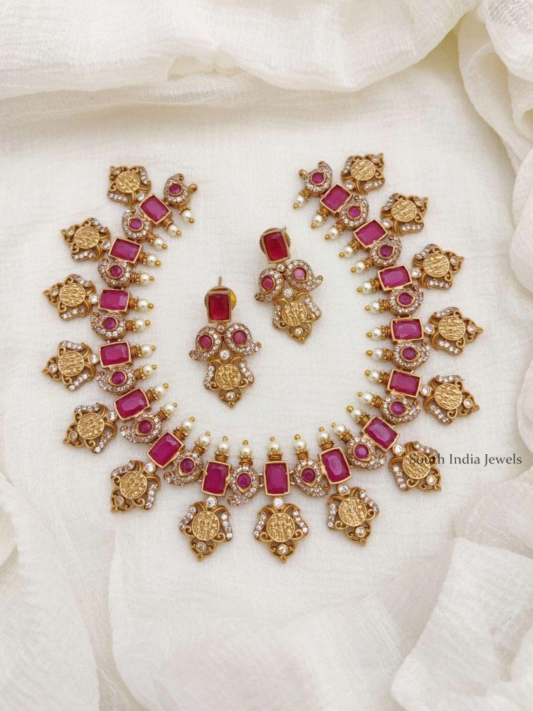 Traditional Ramparivar AD Necklace