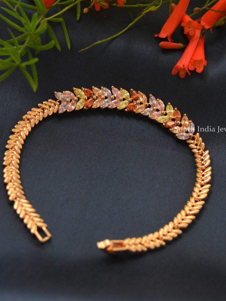 Trendy Rose Gold Bracelet
