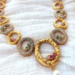 Trendy Round Design Necklace