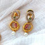 Trendy Round Design Necklace (2)