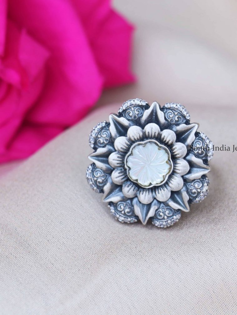92.5 Sterling Silver Finger Ring