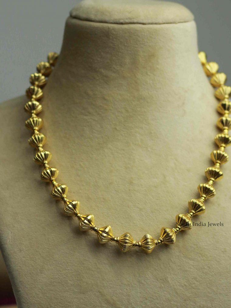 Antique Bead Design Necklace
