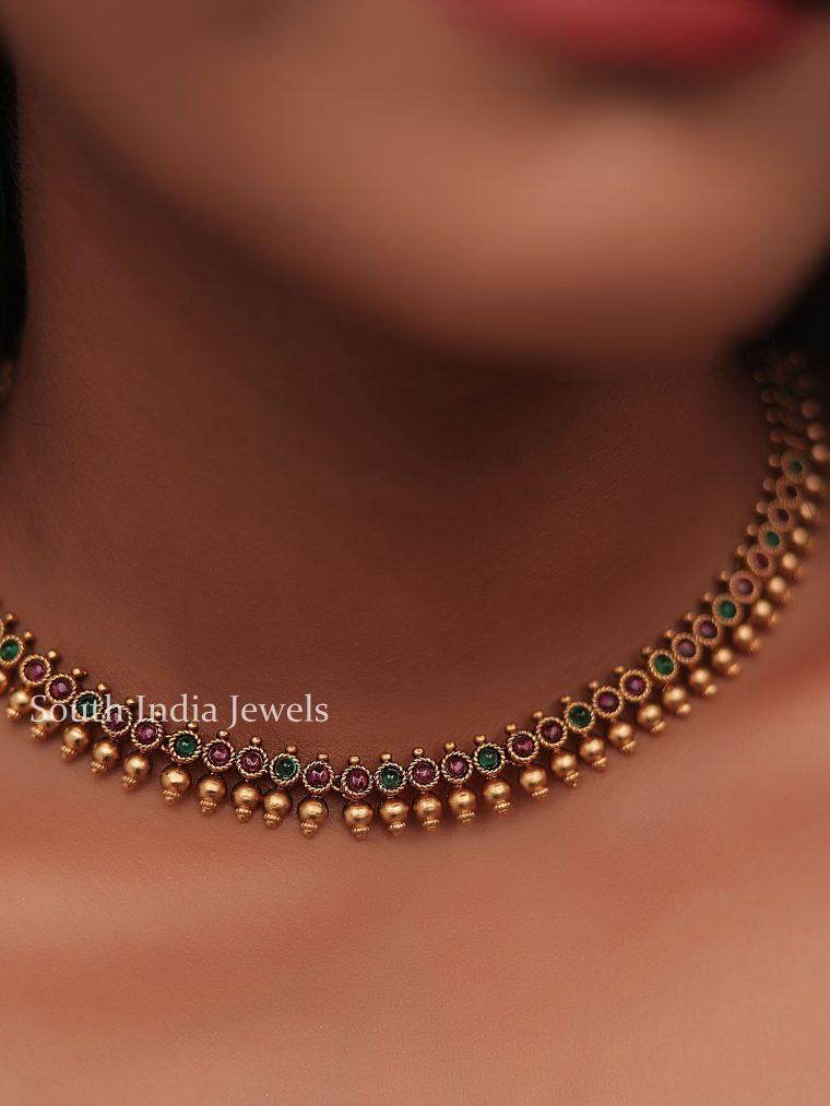 Antique Delicate Kemp Necklace