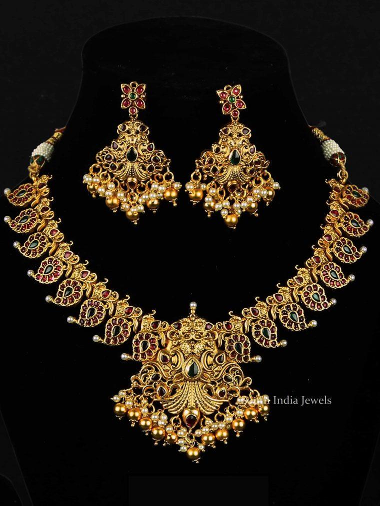 Attractive Mango Design Necklace
