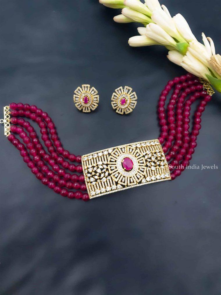 Beautiful Beads Choker (2)