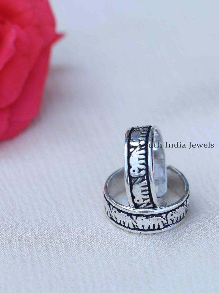 Beautiful Design Sterling Silver Toe Rings