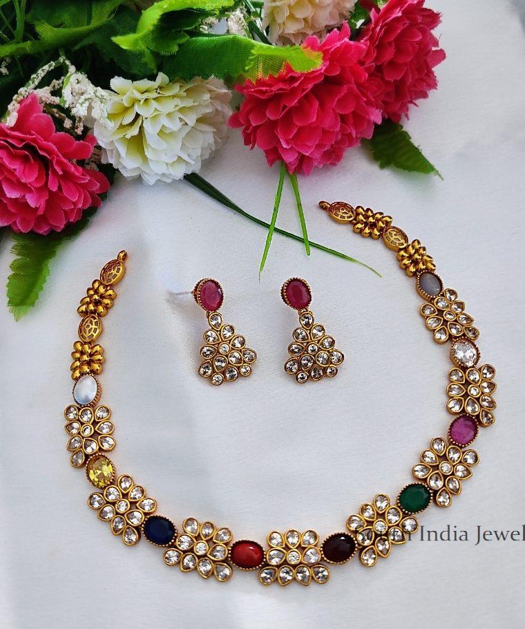 Beautiful Designer Stone Necklace