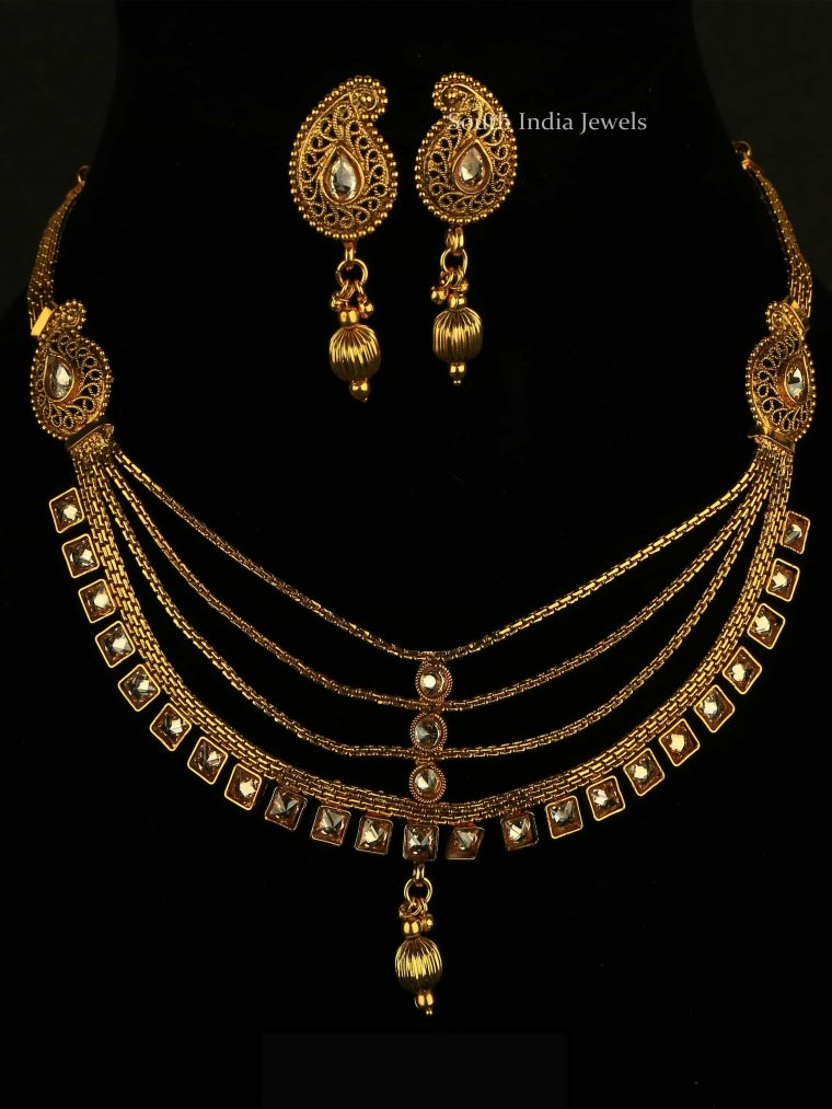 Beautiful Four Layer Necklace