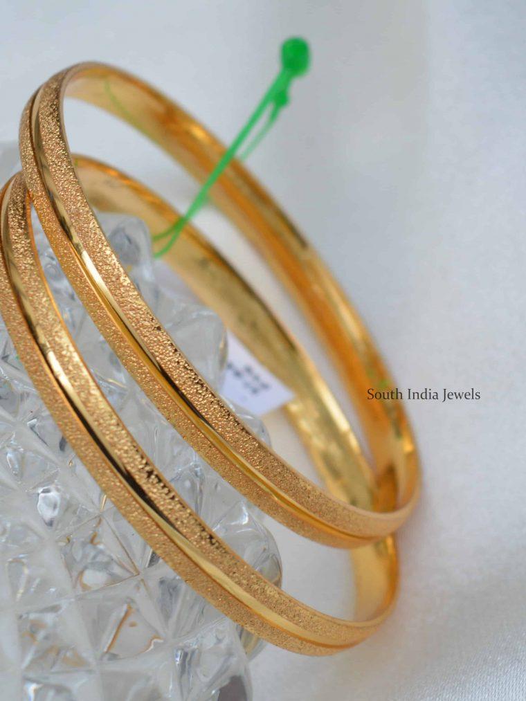 Beautiful Gold Plated Bangles