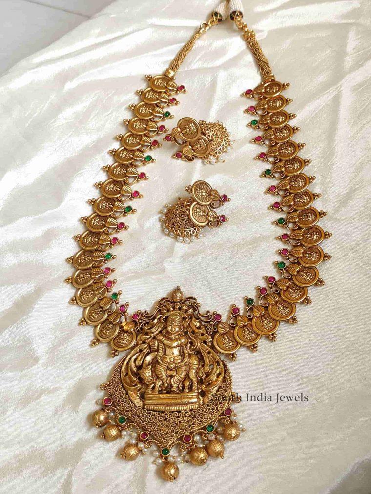 Beautiful Lakshmi Coin Designer Haram