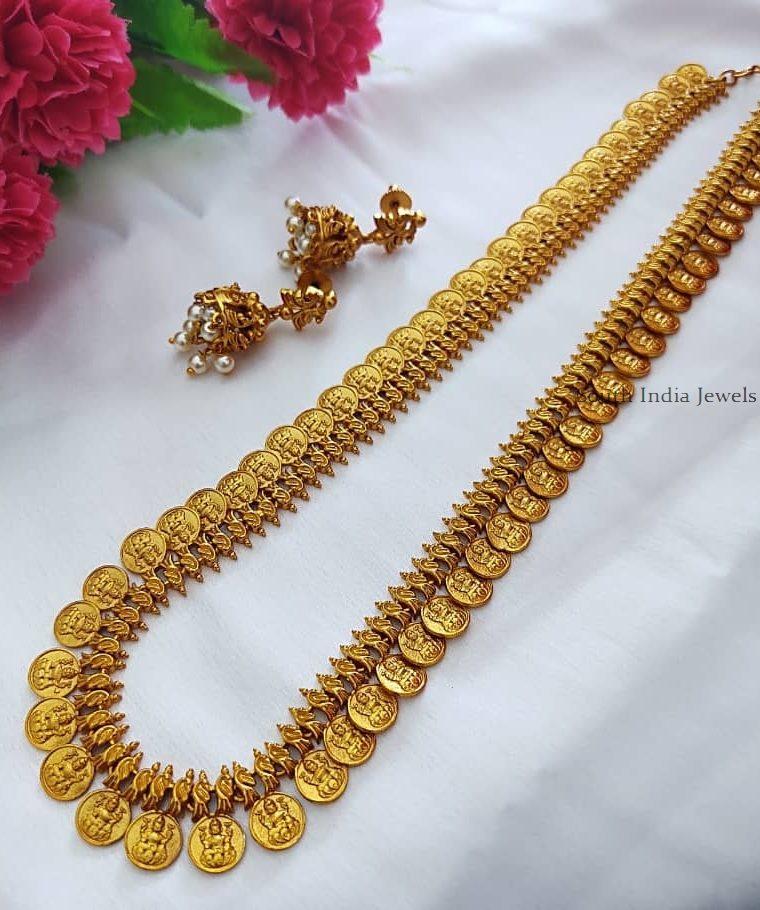 Beautiful Lakshmi Coin Haram (2)