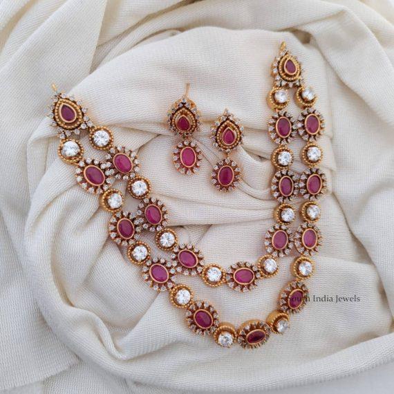 Beautiful Two Layers Kemp Necklace