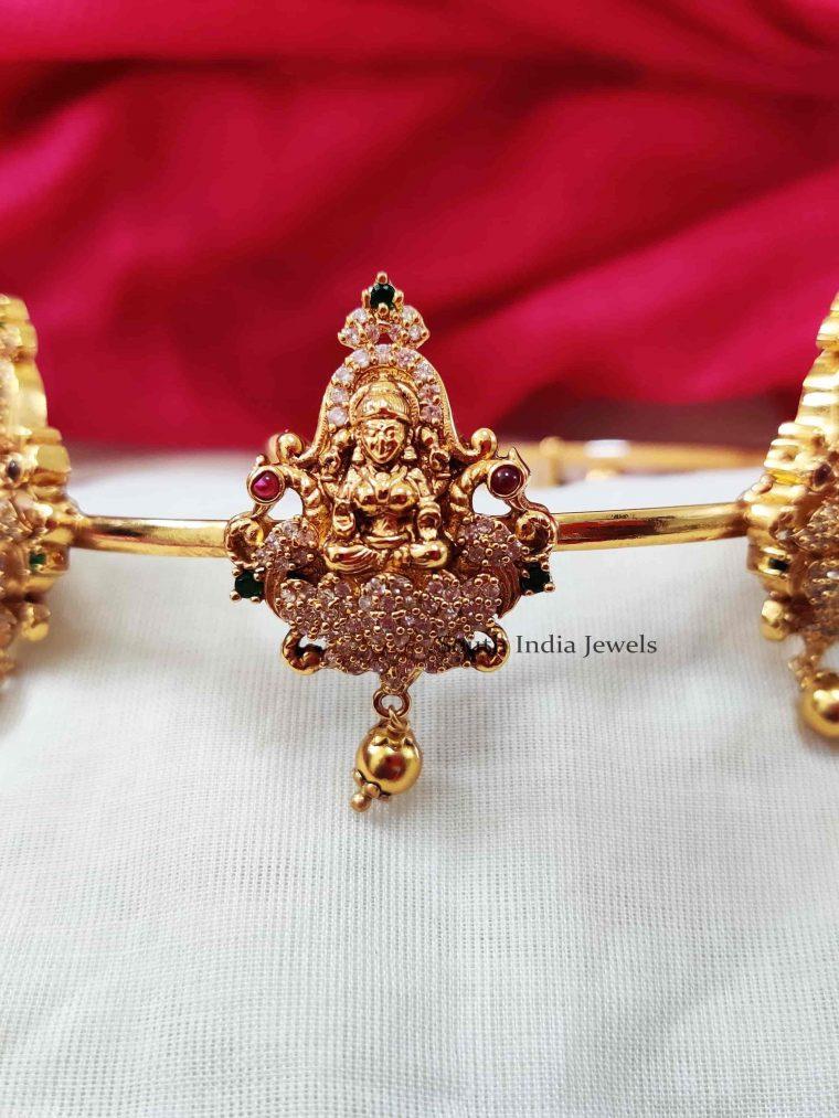 Bridal Lakshmi Design Multi Stone Armlet