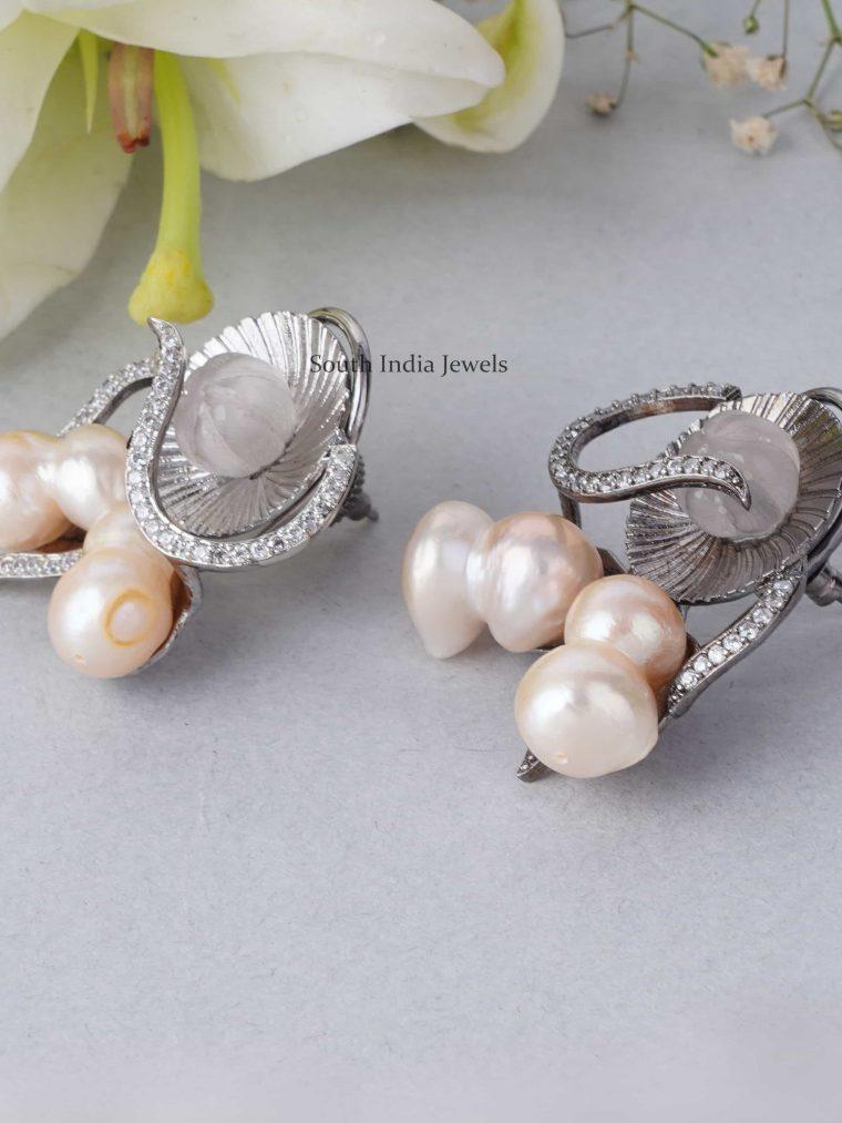 Classic Baroque Pearls Earrings