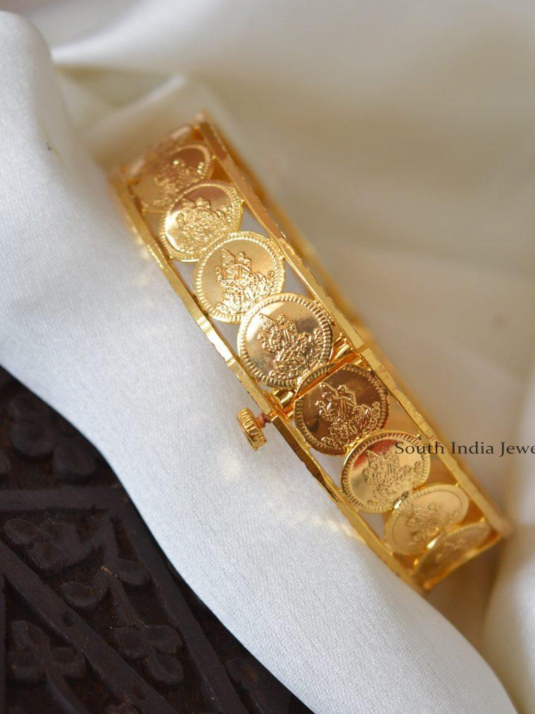 Classic Lakshmi Coin Kada Bangle