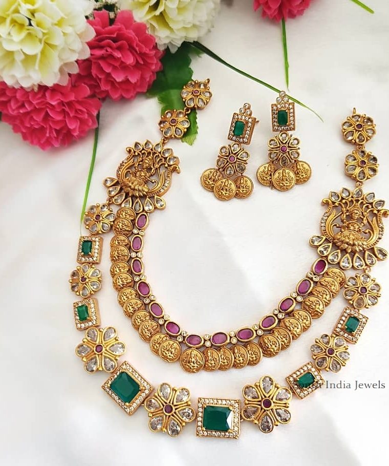 Classic Lakshmi Coin Layered Necklace