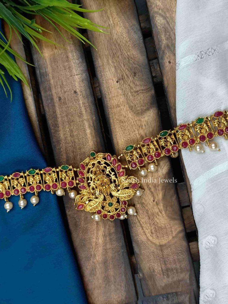 Classic Lakshmi Design Hip Chain