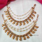 Classic Mango Design Pearls Mattal (2)