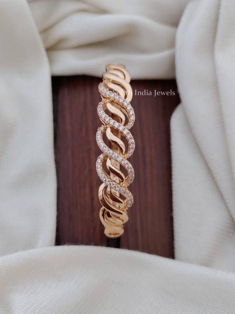 Elegant Design CZ Stone Bracelet
