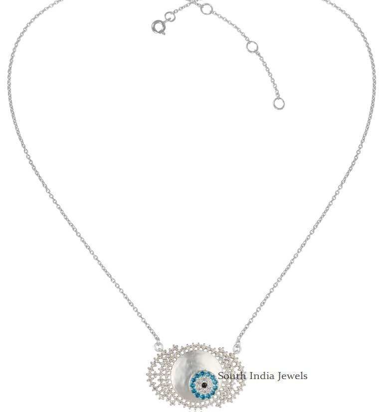 Elegant Evil Eye Necklace