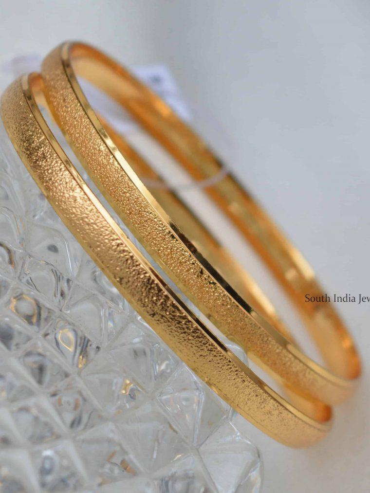 Elegant Gold Plated Bangles