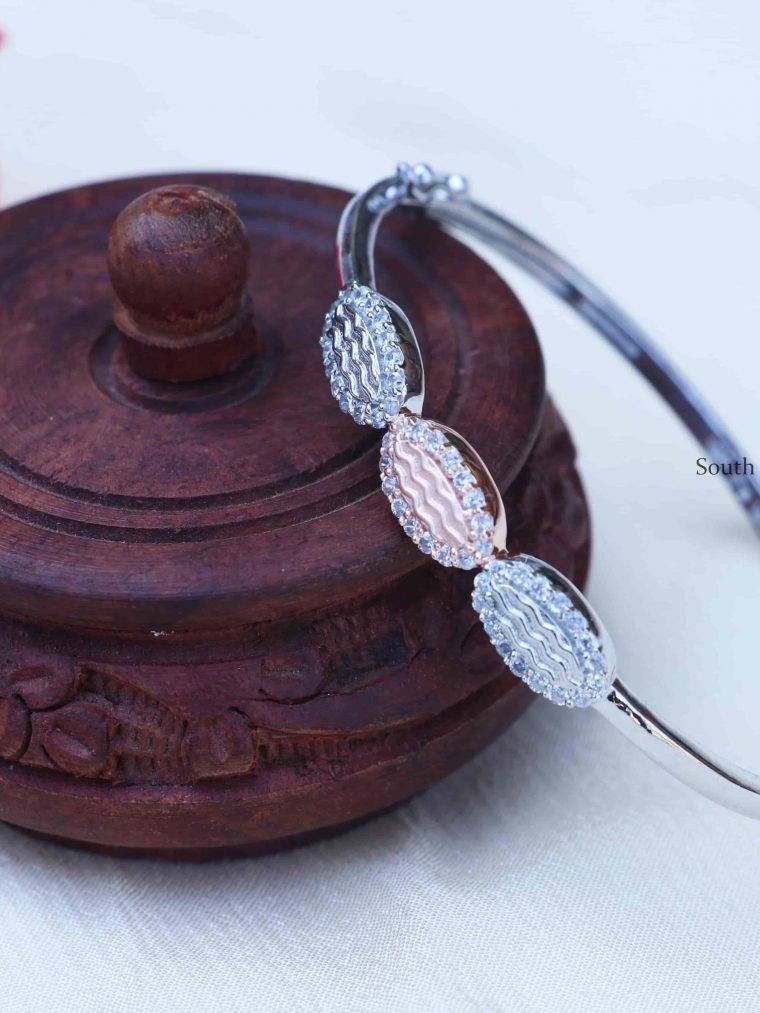 Elegant Sterling Silver Bracelet