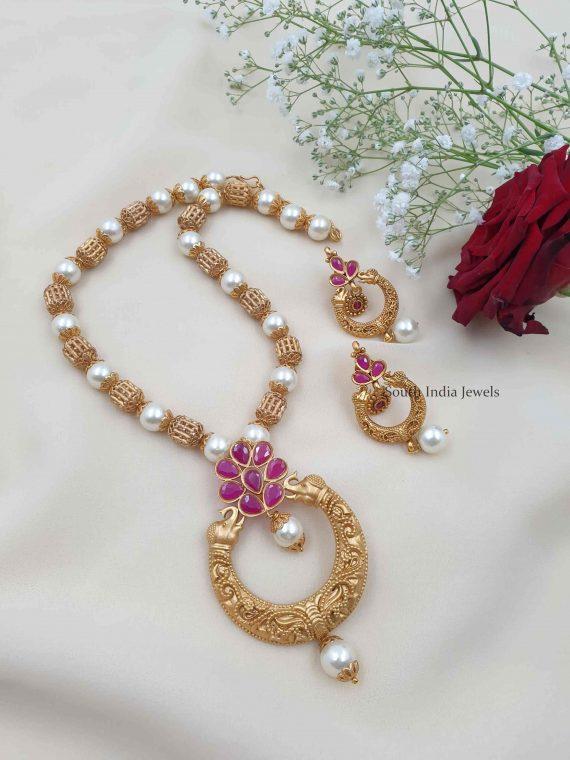 Elephant Design Pendant Necklace