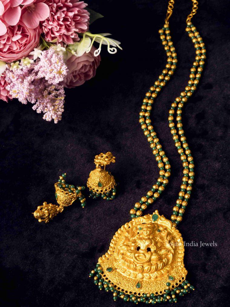 Emerald Lakshmi Design Haram