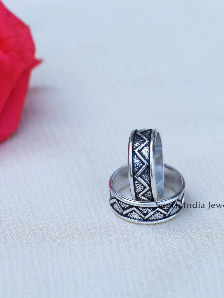 Ethnic Sterling Silver Toe Rings