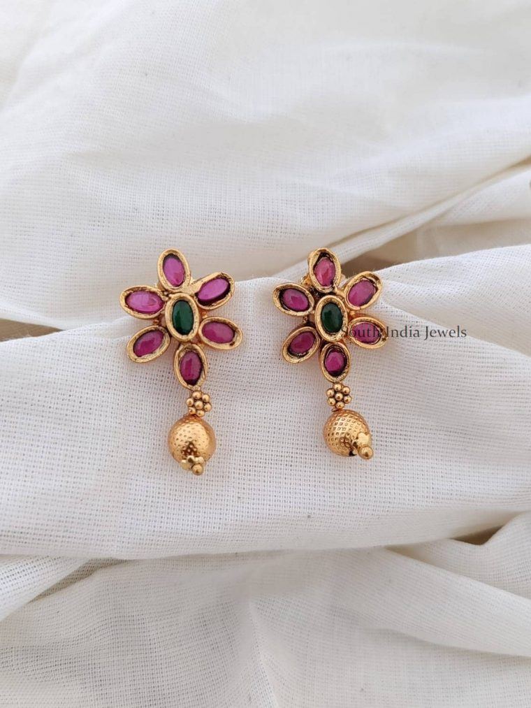 Floral Design Kemp Earrings