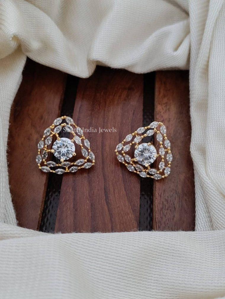 Gorgeous CZ Stone Earrings