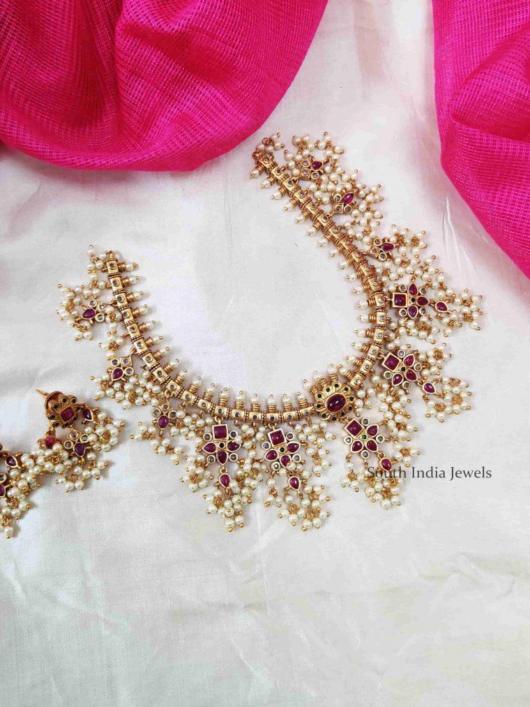 Gorgeous Guttapusalu Kemp Necklace