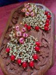 Hand Painted Meenakari Earrings