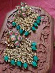 Hand Painted Meenakari Earrings (2)