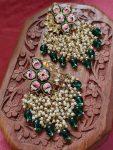Hand Painted Meenakari Earrings (4)
