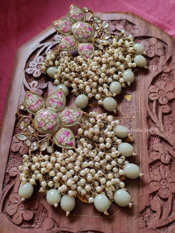 Hand Painted Meenakari Earrings (5)