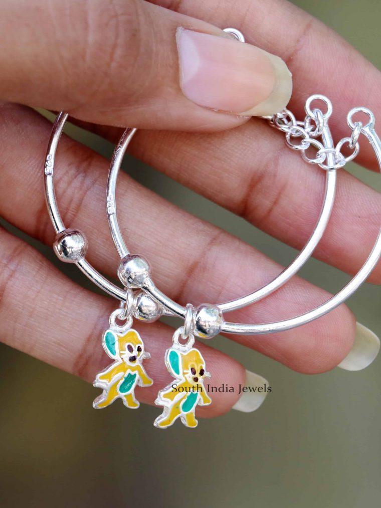 Jerry Design 925 Sterling Silver Baby Bracelet